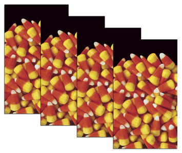 House Full of Candy Corn 4 Halloween window posters