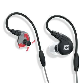 Mee Audio M7P Black Deportivos Cable Intercambiable Micr—fono