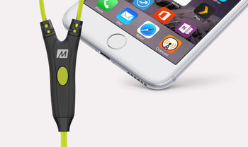 Mee Audio M7P Green Deportivos Cable Intercambiable Micr—fono