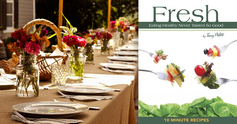 "SOLD OUT    June 28, 2015 — ""Fresh,"" Eating Healthy Never Tasted So Good, with Chef & Author Tony Polito"