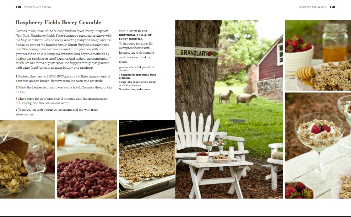 Romantic Prairie Cookbook, pages 112 - 113