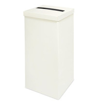 Ivory Silk Post Box