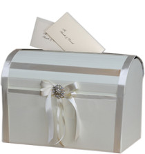 Ivory Elegant Wedding Card Post Box