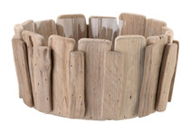 Wood Basket For Chips