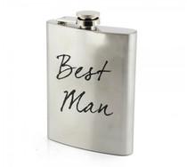 Stainless Steel Hip Flask Best Man