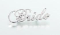 Rhinestone Bride Pin