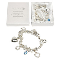 Amore Charm Bracelet Bride 'something Old. . . '