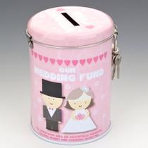 Our Wedding Fund Tin