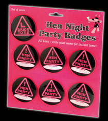 Hen Night Badges