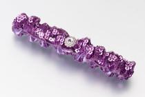 Sequin Garter Purple