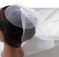 Veil Headpiece White