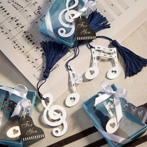 Musical Note Bookmark Favours