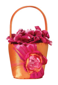 Hot Pink Orange Basket