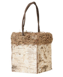 Birch Flower Girl Basket