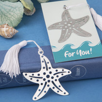 Book Lovers Collection Starfish Bookmarks For Beach Themed Favours
