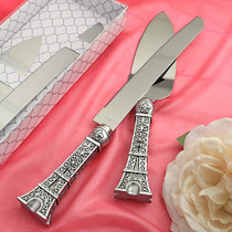 Paris Eiffel Tower Design Cake Set