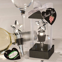 Vineyard Collection Star Design Wine Stoppers