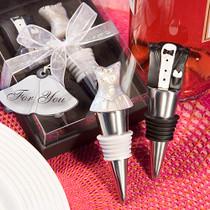 Bride And Groom Wine Stopper Set