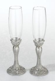 Set of 2 Jewelled Glasses