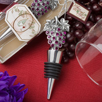 Vineyard Collection Wine Bottle Stopper Favours
