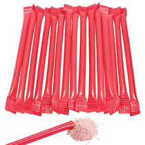 240 x Red Candy Filled Straws Cherry Flavour