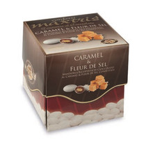 Caramel And Fleur De Sel Sugared Almonds 500G Gluten Free