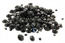 Diamond Confetti Black Assorted Sizes 12mm 9mm 5mm