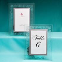 Etched Floral Design Frames