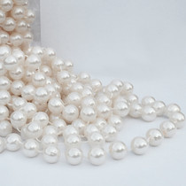 Large Ivory Pearl Beads On String 14mm x 3m