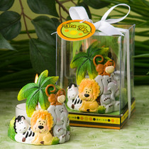 Jungle Critters Collection Candle Favours