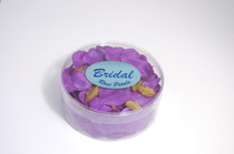Satin Rose Petals Purple
