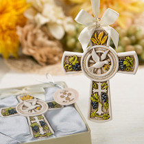 Holy Natures Harvest Themed Cross Ornament From