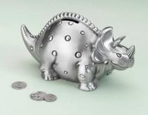 Dinosaur Pewter Bank