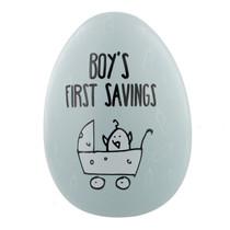 "Eggcellent Large Nest Egg ""Boys First Savings"""