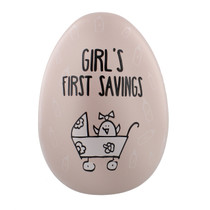 "Eggcellent Large Nest Egg ""Girls First Savings"""