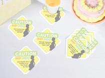 Set of 12 Baby Shower Coaster