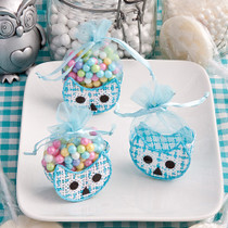 Adorable Owl Baskets Blue
