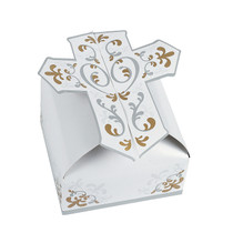 12 x 3D Cross Gift Boxes
