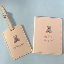 Bambino PU Passport Holder And Luggage Tag