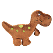That's How We Rawr Snugglesaurus Brown Plush Dinosaur T-Rex