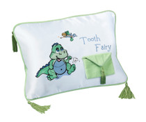 Dinosaur Tooth Fairy Pillow
