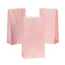 12 x Pastel Pink Gift Bags