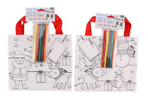 2 Assorted Colour Your Own Gift Bags