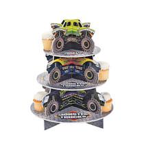 Foam Board Monster Trucks Cupcake Holder