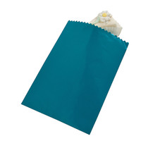 50 x Turquoise Cake Bags