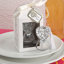 Spectacularly Packaged Heart Bottle Opener Favour