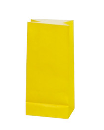 10 x Yellow Party Bags