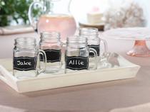 Set of 20 Chalkboard Glass Clings