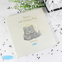 Personalised Me To You Gold Stars Album with Sleeves