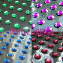 8mm - Self Adhesive Diamante Gems (Round)